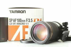 [TOP MINT] Tamron SP AF 180mm F3.5 Di LD IF Macro Lens for Nikon F from Japan