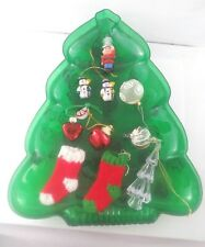 Vintage Hallmark Christmas Ornament Thimble Soldier & Other Decorations Lot