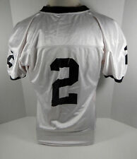 2004 Friday Night Lights Permian Panthers #2 Screen Worn Used White Jersey