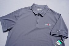 Nike Golf Dri-Fit Casual Polo Shirt. Gray, GenErgy Embroidery. Men's XL, NWT!!