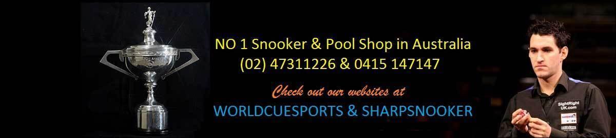 World Cue Sports & Sharpsnooker