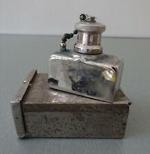 antique LANTERN Vintage mini Pocket Lamp Lantern Camping Kerosene lamp METAL BOX