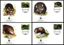 Cats Liberian Stamps
