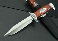 New Wood handle Fixed Blade Survival Bowie Hunting Knife K313B