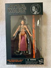 "Star Wars Black Series 6"" PRINCESS LEIA (SLAVE OUTFIT) #05 - Red Line - MISB"