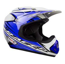 Youth Medium RXT Racer 11 Blue Helmet MX Motorbike Motocross Childrens