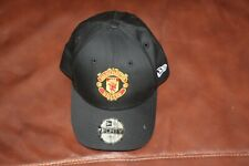 NEW ERA 9FORTY MANCHESTER UNITED BLACK BASEBALL CAP 9 FORTY  CHILD SIZE