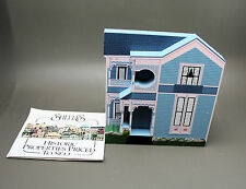 Shelia's House Collectible Tatman House Eureka Springs, Ak in Box 1996