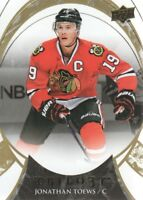 2015-16 Upper Deck Trilogy Hockey #19 Jonathan Toews Chicago Blackhawks