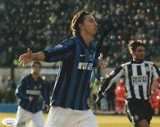 Inter Milan Zlatan Ibrahimovic Autographed Signed 8x10 Photo JSA COA