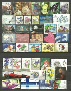 FINLAND - Recent used stamps from the 2000's & 2010's