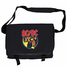 AC/DC MESSENGERBAG RECORD BAG SCHULTERTASCHE KURIERTASCHE HIGHWAY TO HELL