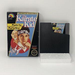 1987 Nintendo NES Karate Kid Video Game Cart, Box No Manual pre Cobra Kai