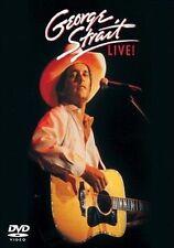 George Strait Live! [DVD] by George Strait (DVD, Jun-2010, Universal)