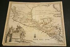 1740's ORIGINAL MEXICO NEW HISPANIA MAP