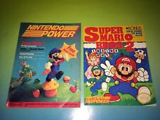 NINTENDO POWER 1ST ISSUE VINTAGE MAGAZINE. SUPER MARIO BROS 2 & INSIDE OUT MAG