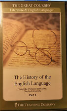 The Great Courses The History of the English Language