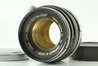 Rare 【N.MINT】 Canon 50mm f/2.2 L39 LTM Leica Screw Mount Lens From JAPAN #487