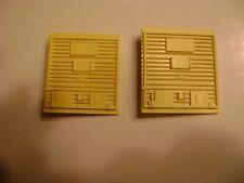 Lionel 6464-510 Pacemaker NYC Yellow-Pastel Doors (pkg. of 2)