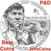 2018 P D SACAGAWEA NATIVE AMERICAN Jim Thorpe Wa Tho Huk Indian Dollar Set s PD