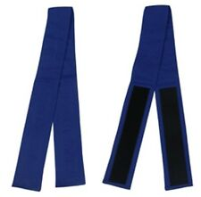 Blue Fabric Belt with Hook and Loop Fasteners (3 inches wide and 50 inches long)