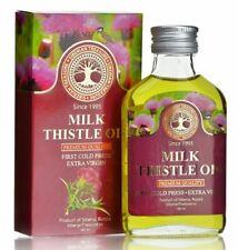 Siberian Milk Thistle Oil, Silymarin, Extra Virgin, First Cold Press, 100 ml