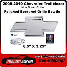 08-10 Chevy Trailblazer Polished Aluminum Bowtie Grille Emblem AMI 96071P