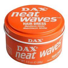 Dax Hair Wax Orange Neat Waves Hair Dress 99g