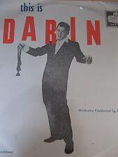 BOBBY DARIN : This is DARIN Orig 1959 MONO Album