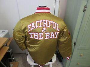 San Francisco 49ers  Mitchell & Ness Satin Jacket New WT