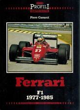 Ferrari F1 1977-1985 1986 1st Edition HC BOOK