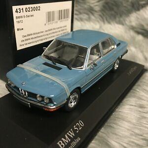 Minichamps 1:43 BMW 5 Series 1972 Pastel Blue 431-023002
