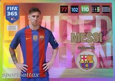 Lionel Messi Barcelona Panini Adrenalyn XL FIFA 365 Limited Edition 2016/17
