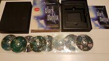 Rare Black Dahlia Big Box PC Game with Dennis Hopper on 8 CD Rom Complete