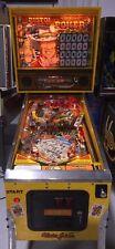Pistol Poker Pinball Machine Coin Op Alvin G Gottlieb Rare 1 of 200 Western