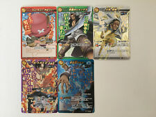 One Piece Miracle Battle Carddass Omega Rare Set OP03 5/5