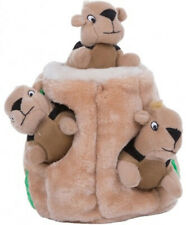 "OUTWARD HOUND - Hide A Squirrel Dog Toy Junior - 5"" Long"