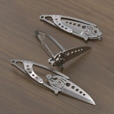 Couteau CRKT Ed Van Hoy Snap Lock Lame Acier420J2 Manche Acier CR5102N