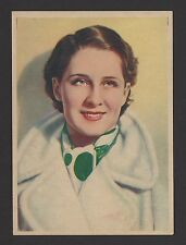 """Norma Shearer 1936 Nestle Stars of the Silver Screen Card #2 4""""x6"""""""