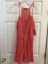 Hot Kiss Women's Spaghetti Strap Dress size Xl Peach NWT