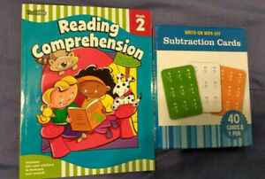 Learning Resources Reading Comprehension and Subtraction Cards