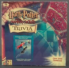 Harry Potter Chamber of Secrets Trivia Game Figures Quidditch Snitch Gryffindor