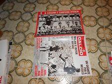 CALCIO RIVISTA SUPERCALCIO ANNO II N12 POSTER ZOFF 24-3-1970 CAGLIARI ALMAS