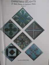 Christmas Delights of Sally Dewey & Kathleen Rake Canvaswork Book #1-Bargello/Ne