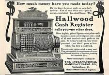 1904 HALLWOOD CASH REGISTER AD ADVERTISEMENT COLUMBUS OHIO