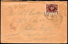 2/51.POLAND,1924 INFLA COVER TO PANAMA,SCARCE DESTINATION