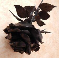 Vintage Iron Black Rose. Gothic. 50 cm long