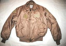 Usaf Tan Nomex Fire Resistant Cold Weather Flyers Men's Cwu-45/p Jacket- X-Large