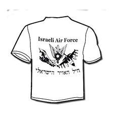 Israeli army IDF Air Force Air Space Arm IAF Military Symbol Jets printed T-Shir