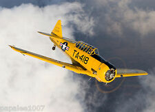 "Model Airplane Plans (UC): NORTH AMERICAN AT-6 TEXAN Scale 42"" for .32-60 Engine"